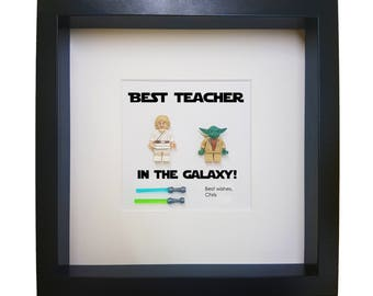 best teacher gift classroom decoration gift Personalized Gift for teacher with star wars figures teacher retirement gift