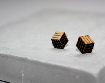 Jenee | Hexagon Earrings