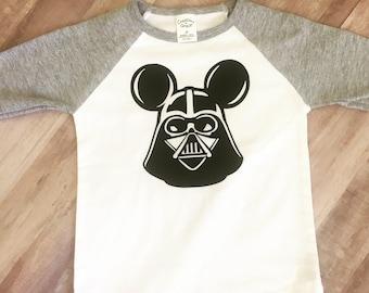 Darth vader mickey shirt