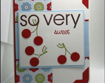 So Very Sweet Thank You Card