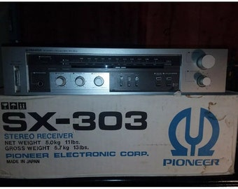 Vintage Pioneer SX-303 Stereo Receiver