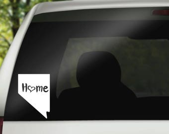 Nevada Decal, State Decal, Nevada Car Decal, Nevada Home Decal, State Car Decal, Laptop Decal, Tumbler Decal, Water Bottle Decal