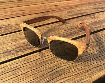 "Limited Edition Wooden Sunglasses - ""Mast"" - UV400"