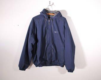 Nike insulated jacket large logo on back
