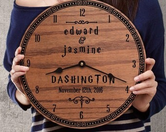 Personalized Wedding Gift for Harry Potter Nerds - Gift with Last Name - Fans of Harry Potter - Custom Names - Unique - Harry Potter