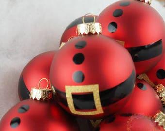 Santa Belly Ornament