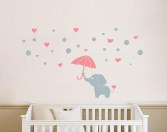 Wall stickers nursery | Elephant - NR129