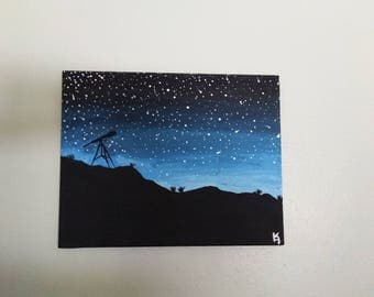 Look To the Stars Painting