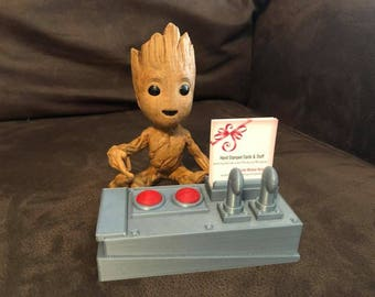 Groot Business Card Holder