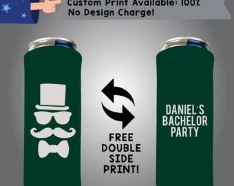 Bachelor Party 24 oz Large Can Cooler Double Side Print (24LC-Bach01)