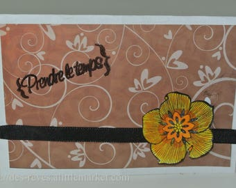 Please take a card - Flower-