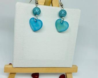 Heart Earrings / heart earrings