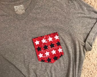 Star Spangled Tee - Summer - Fourth of July
