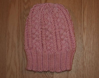 Cabled hat 1
