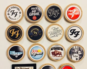 Foo Fighters Magnets - Set Of 15 - FREE SHIPPING