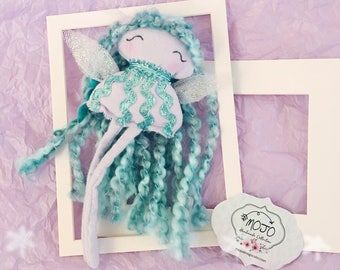 Lilac Dandelion 04 - ornament - handmade - doll - fairies - angel