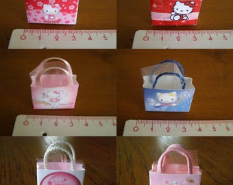 to choose from, miniature bag hello kitty, shopping, small bag to put on your gifts