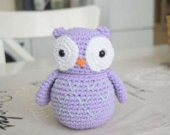 Big Crochet Owl
