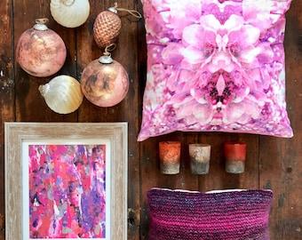 SALE Cherry Blossom Cushion