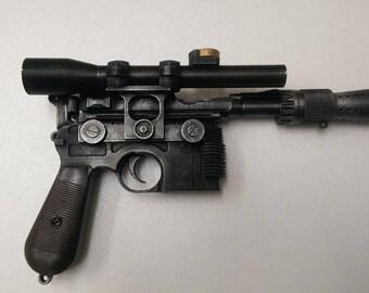 Star Wars full size DL-44 Han Solo blaster kit