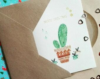Christmas cards, 21-piece kit