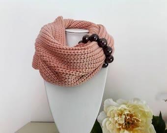 Jewel Neck scarf