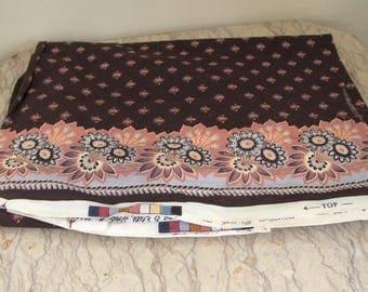 "length of vintage Brunschwig cotton fabric ""Bandana"""