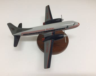 Art Deco DC-3 Model Airplane