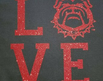 UGA Love T-Shirt
