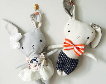 Toy stuffed animal toy baby and child