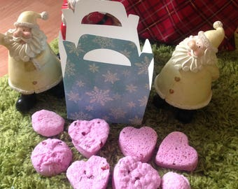 Relax and sooth handmade aromatherapy bath bombs