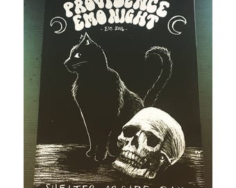 PROVIDENCE EMO NIGHT Limited Edition Poster