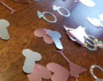 Bachelorette Party Confetti - Penis Confetti - Bridal Party Shower Confetti