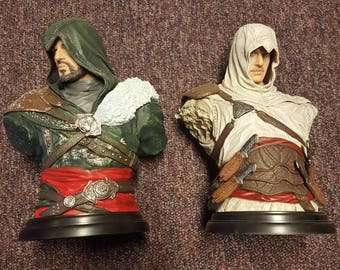 2 Busts from Assassins Creed