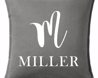 Initial Pillow - Name Pillow  - Personalized