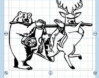 Reverse Hunting SVG