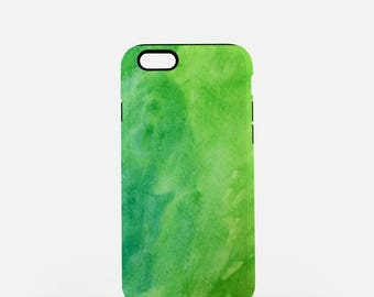 Mean and Green, Tough iPhone or Samsung Galaxy Case, Tough Phone Case, Green Phone Case, iPhone Case, Samsung Case