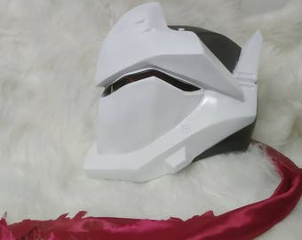 Japan Genji Helmet Mask Cosplay