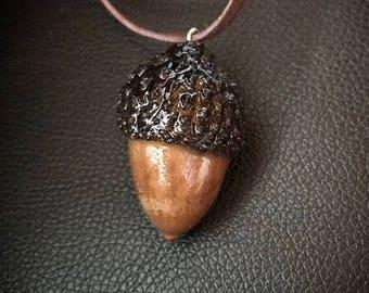 Acorn Necklace