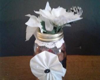 Christmas Flower Vase