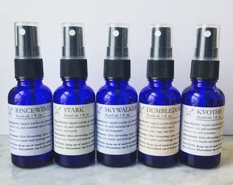 Beard oil – All 5 from the Fan-Beard Collection