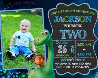 The Good Dinosaur Invitation Birthday - The Good Dinosaur Party