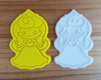 Aurora (Sleeping Beauty)  Cookie Cutter and Stamp