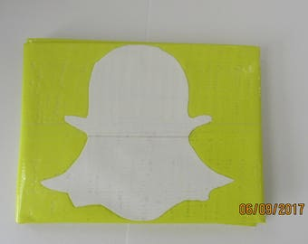 Snapchat Duct Tape Wallet