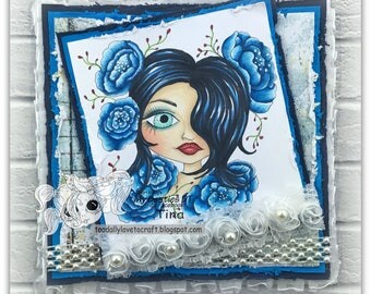 Blue My Bestie Card