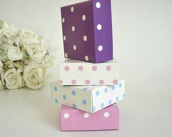 Baby Shower favor box, 10 LARGE size cardboard box with lid, Cardboard box, Christmas box, Wedding favor box, Unique favor box, Wedding box