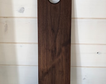 Black Walnut Charcuterie/Serving Board