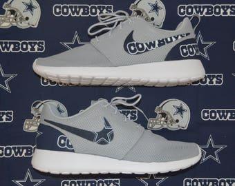 NFL Dallas Cowboys Nike Roshe Run One Shoe Sneaker Shoe Sneaker
