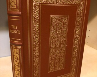 Easton Press Prince by Machiavelli 100 Greatest