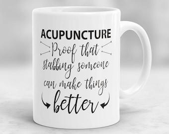 Acupuncturist Mug, Acupuncture Mug, Acupuncture Gifts, Acupuncturist Gift, Acupuncture Present, Acupuncture Cup, Alternative Medicine P192